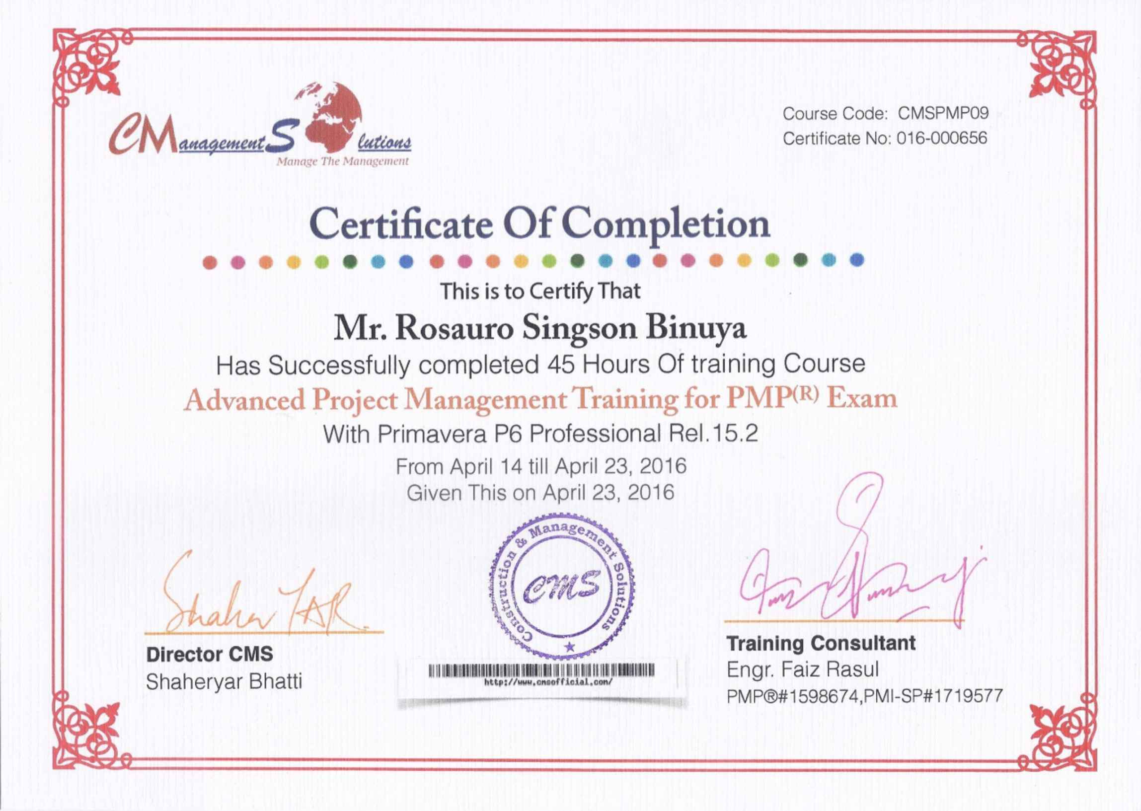 Project Management Online Certificate Part Time Online Mandegarfo