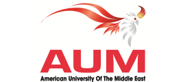 American University of the Middle East - AUM logo