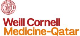 Weill Cornell Medicine-Qatar logo