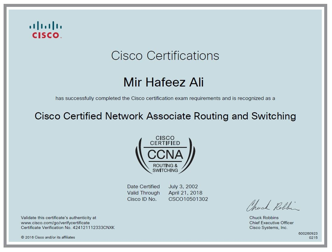 Mir hafeez ali bayt ccna routing and switching certificate 1betcityfo Gallery
