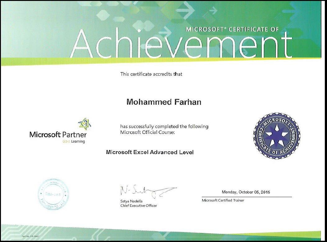 How To Get Microsoft Partner Certificate Best Design Sertificate 2018