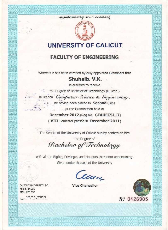 Shuhaib valiya kalladi bayt btech computer science certificate 1betcityfo Images