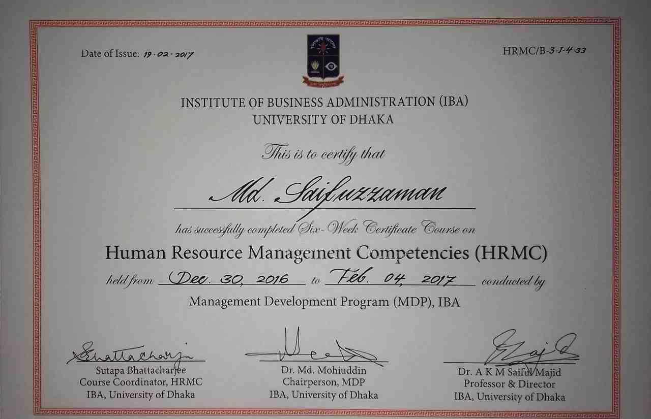 Md saifuzzaman bayt human resource development compensation management and benefits employee turnover and retention management work life balance wlb motivation xflitez Image collections