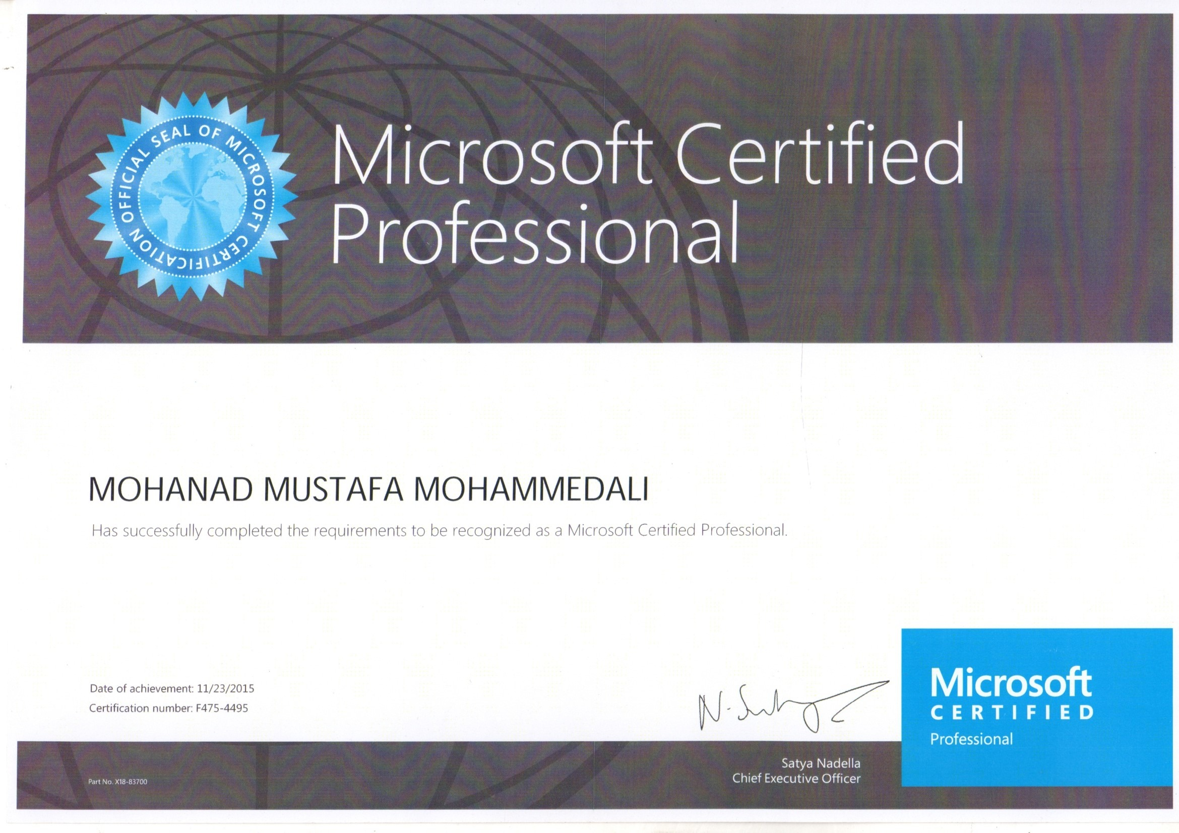 bayt microsoft certified professional certificate 1betcityfo Images