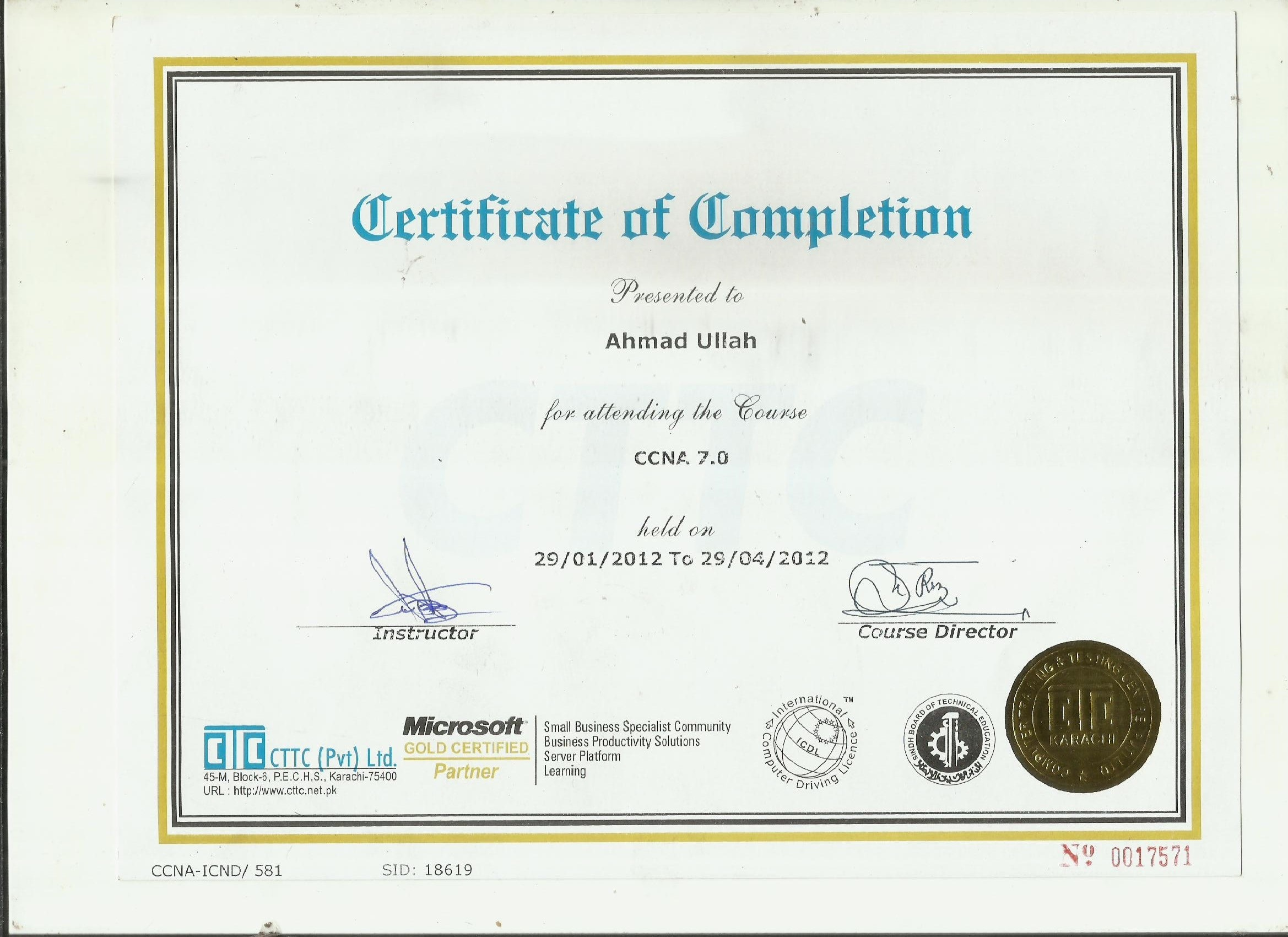 Ahmad ullah bayt training and certifications xflitez Images