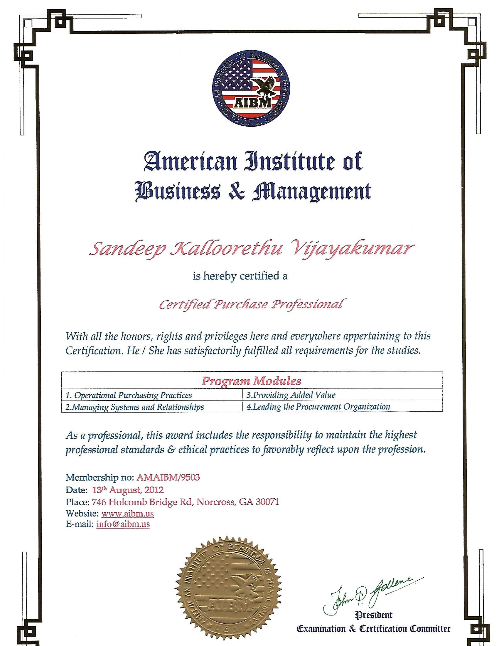 Sandeep kv bayt training institute american institute of business management xflitez Image collections