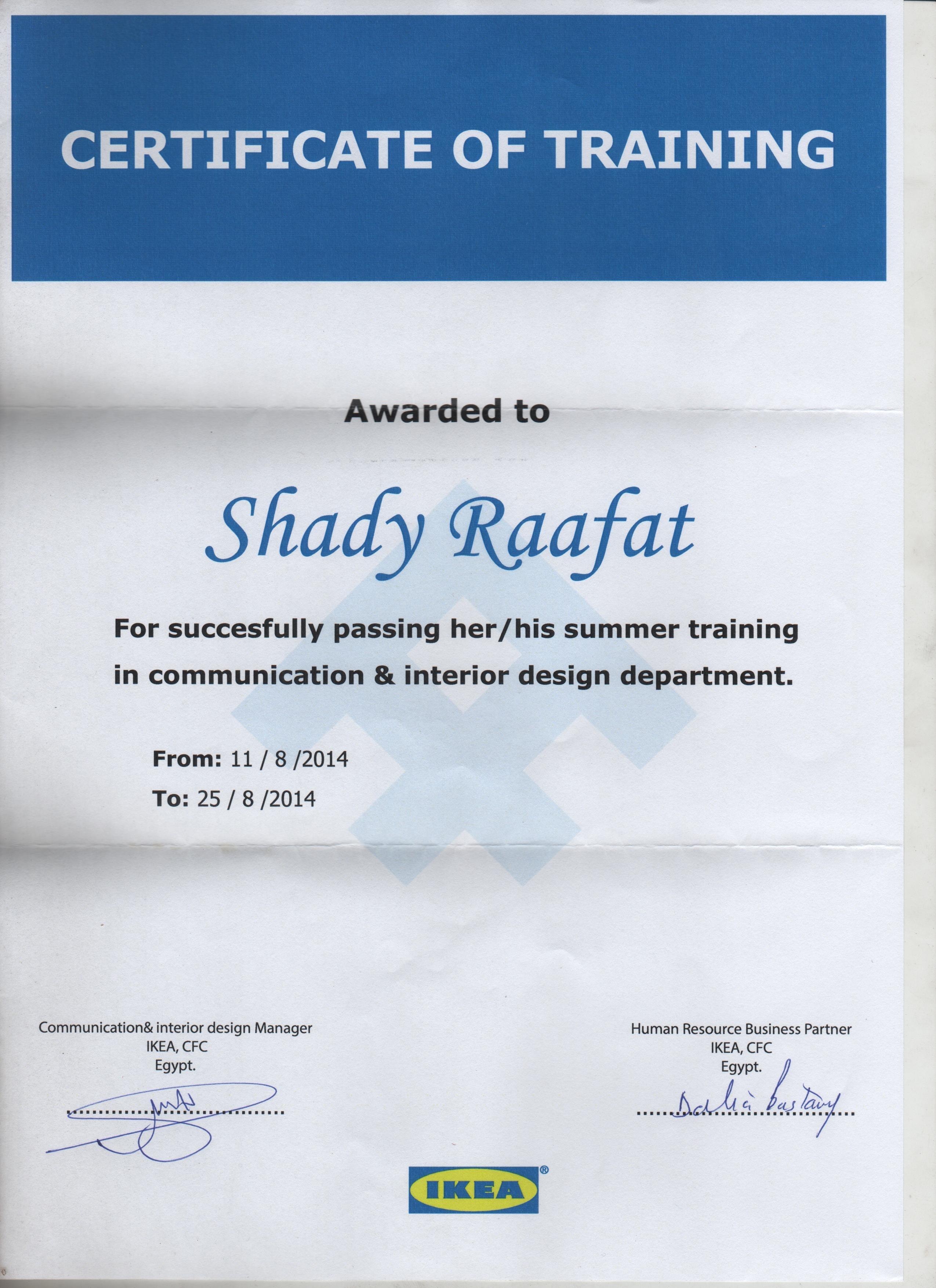 Training Institute IKEA Egypt