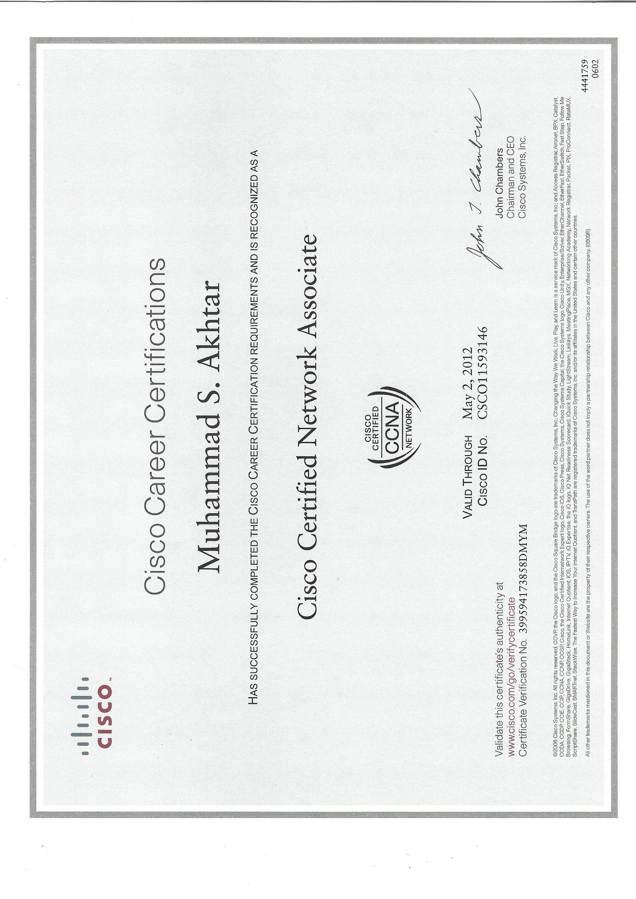 Muhammad saud akhtar bayt ccna certificate xflitez Gallery