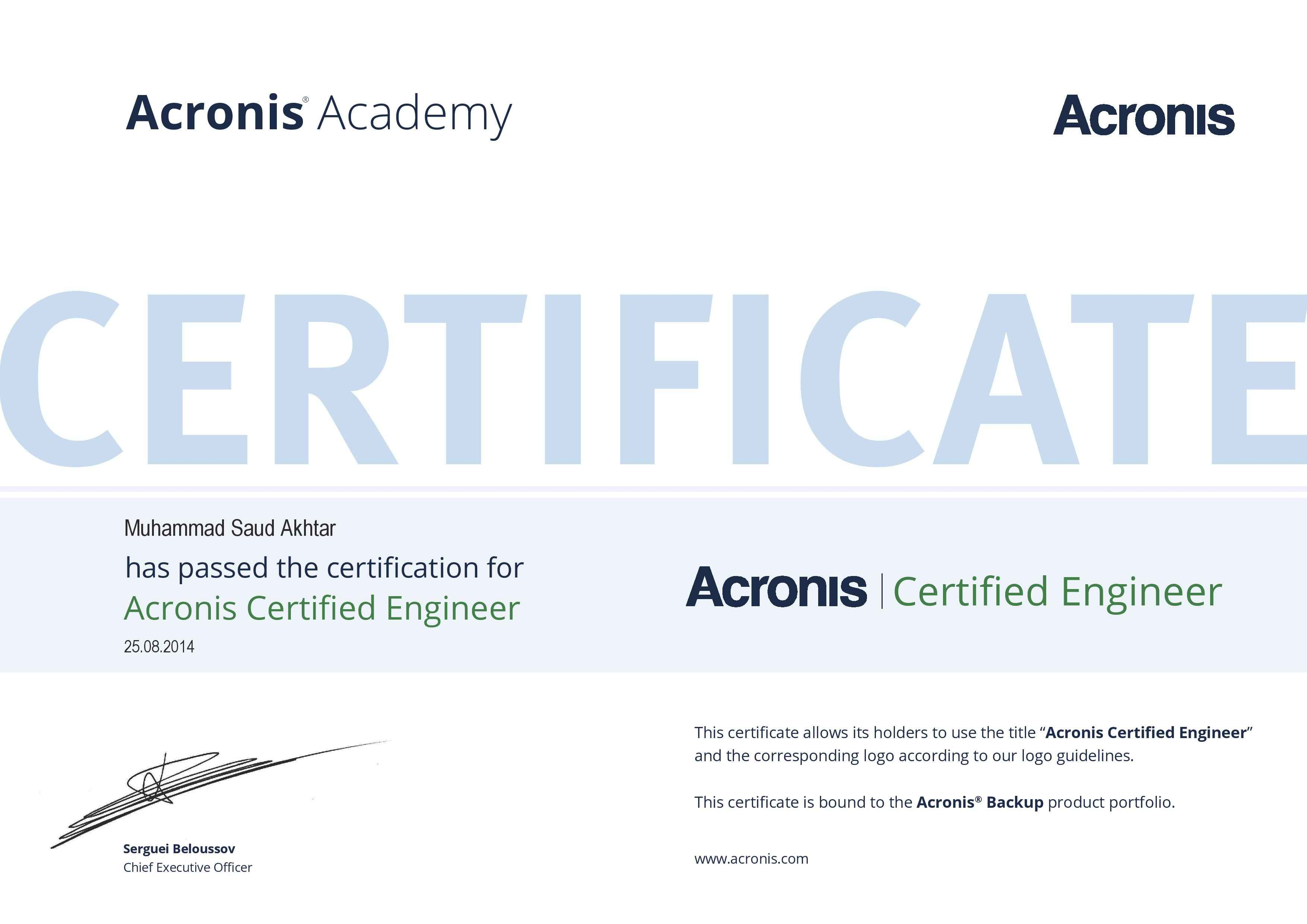 Muhammad saud akhtar bayt acronis certified engineerpdf certificate 1betcityfo Gallery