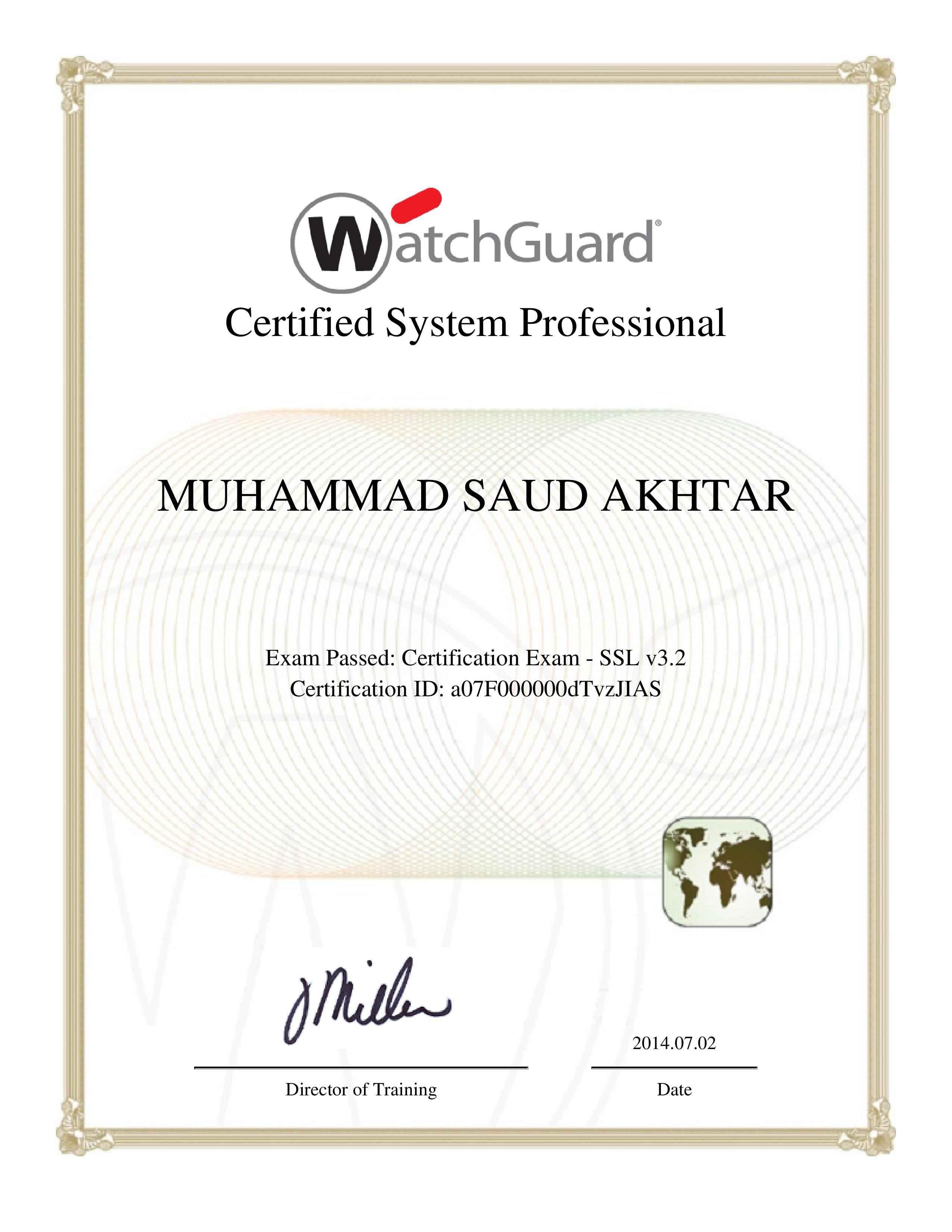 Muhammad saud akhtar bayt watchguard certified system professional ssl certificate 1betcityfo Gallery