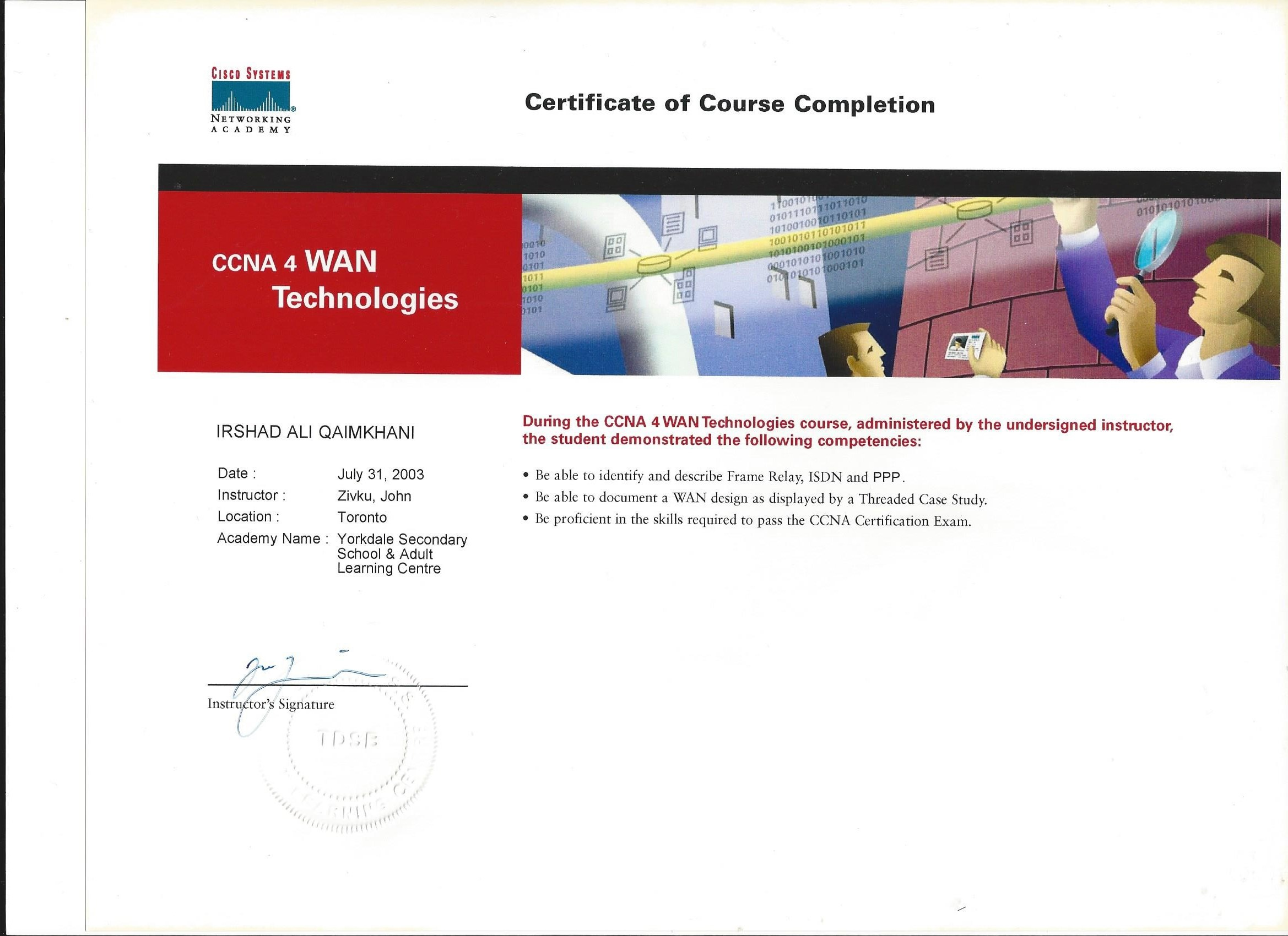 Ccna 4 Lab manual answers