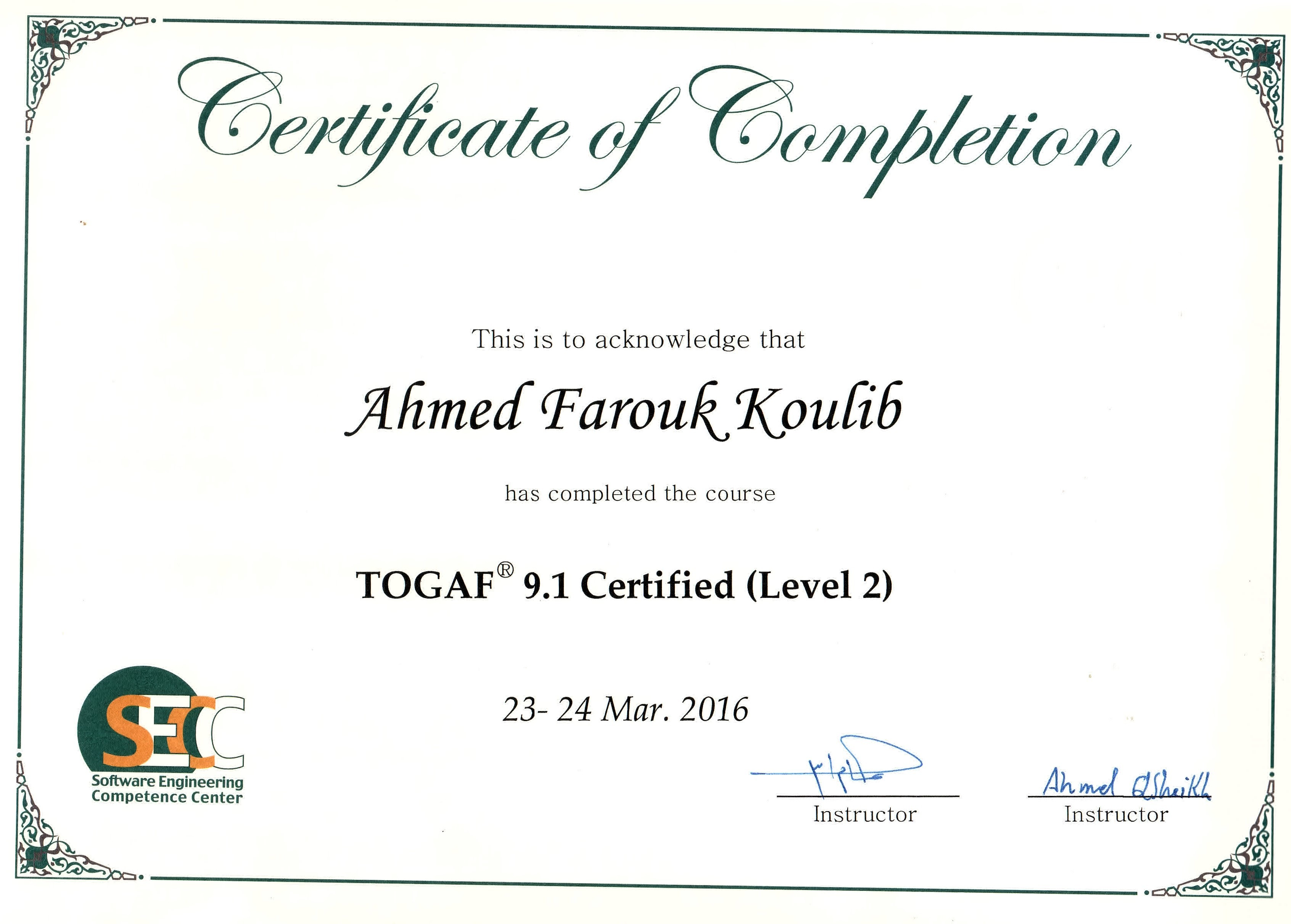 Ahmed farouk koulib bayt training institute software engineering competence center secc xflitez Gallery
