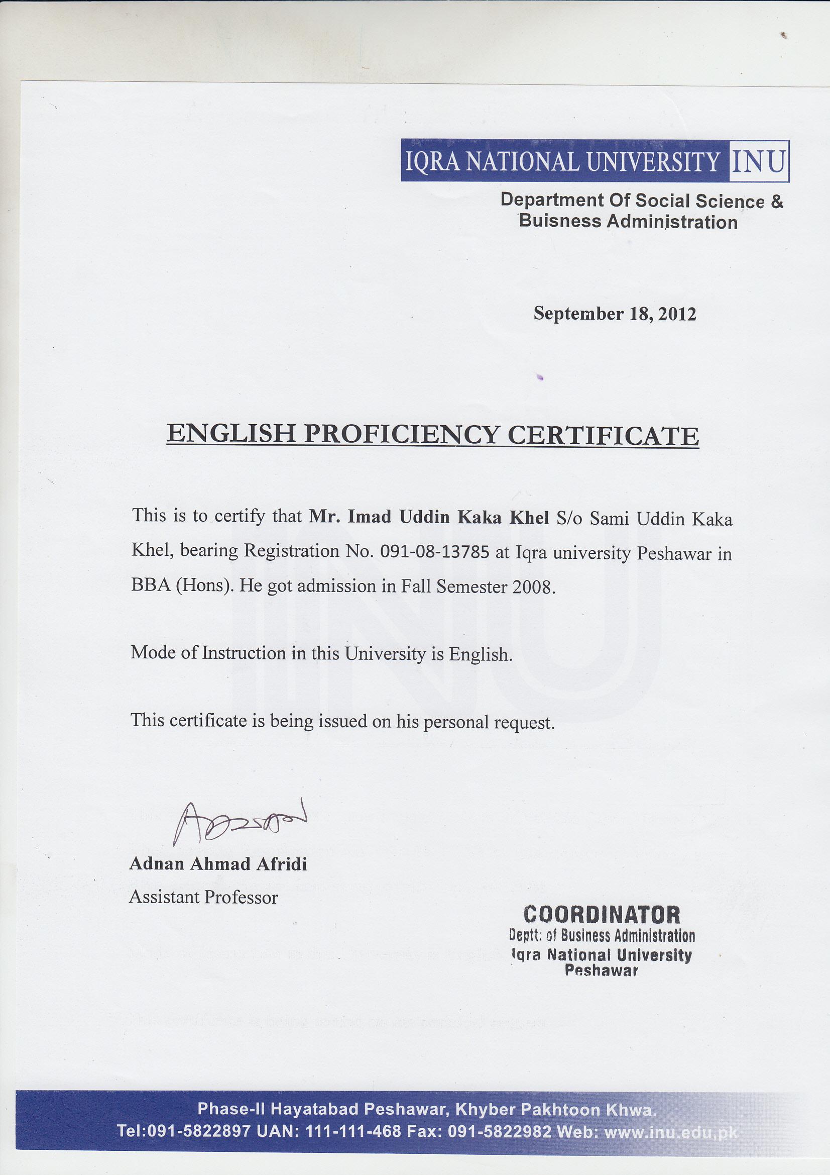 Imad Uddin Kakakhel Bayt Com