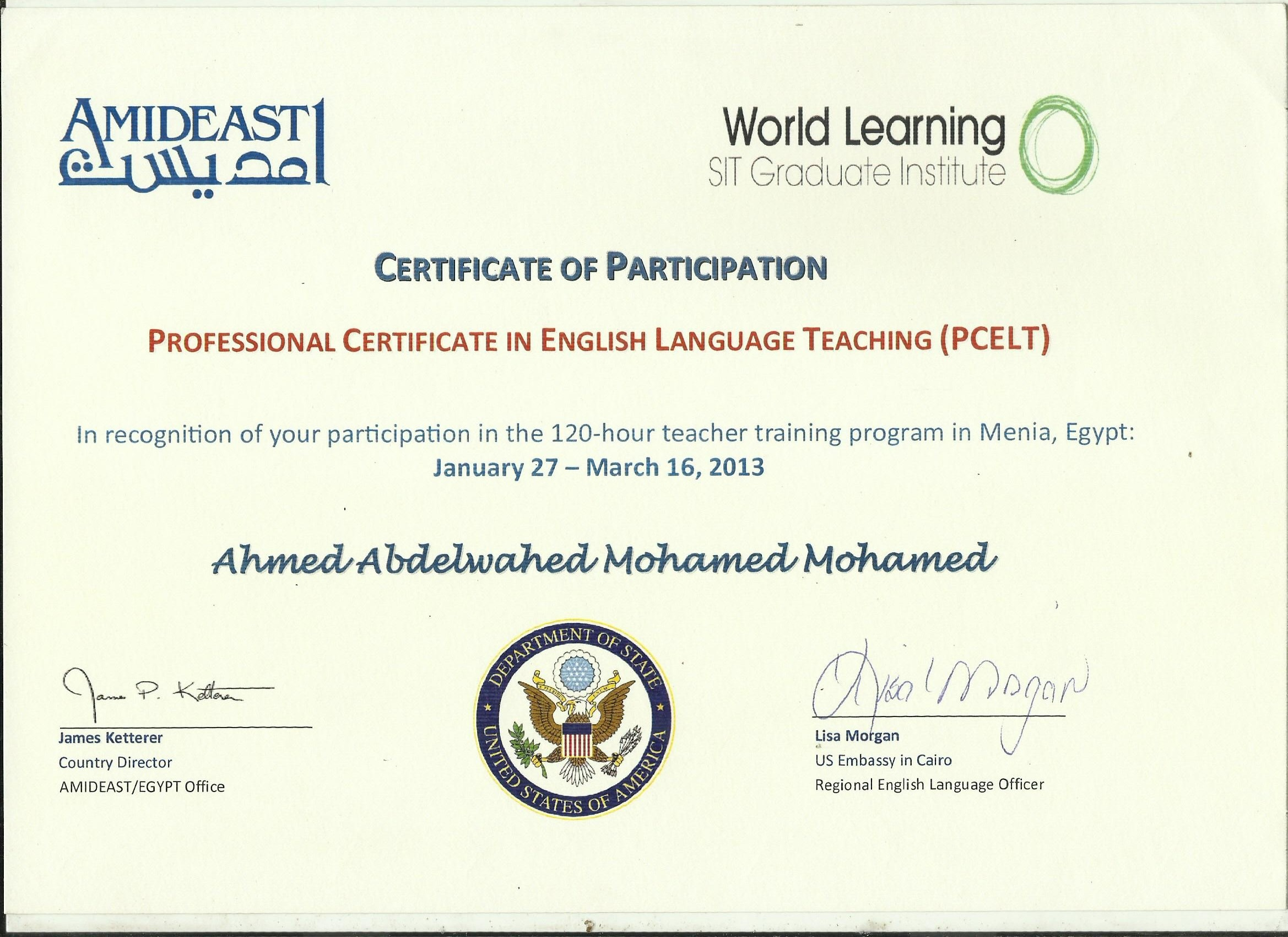 Tesl I120 Hour Teacher Education And Certification Program Is Now Recognized Approved By Canada