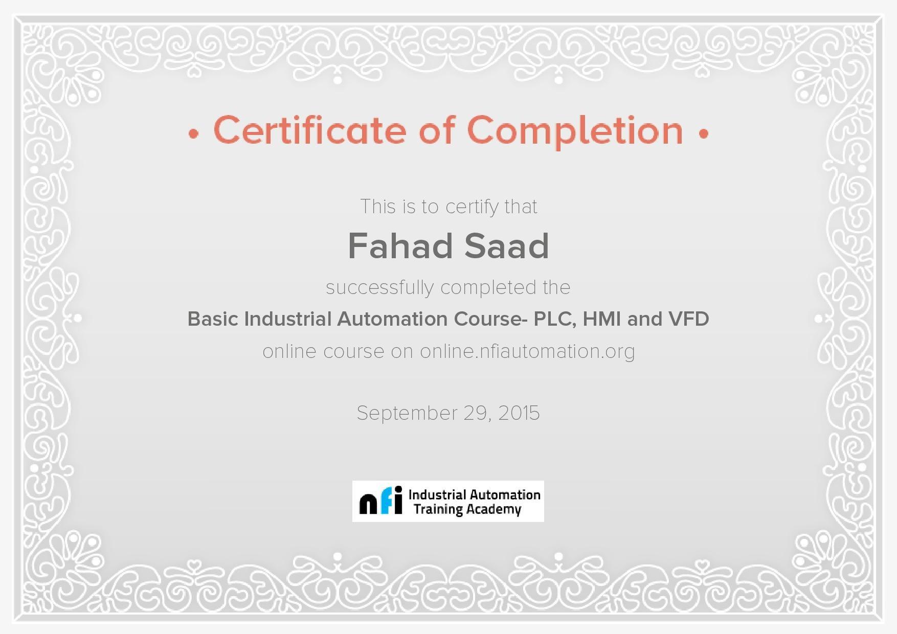 Fahad saad abdul rahim bayt training and certifications xflitez Choice Image