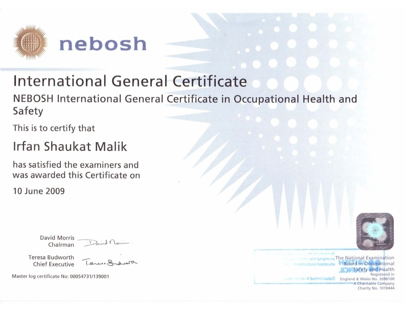 NEBOSH IGC Examiners Reports PDF Download - Health & Safety Study Notes