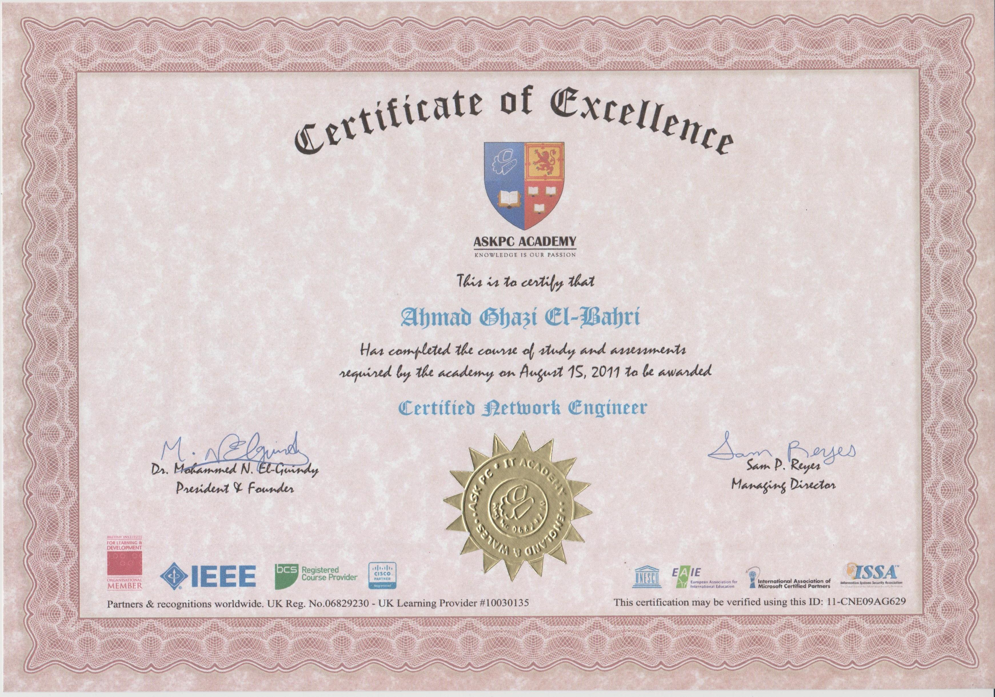Ahmad elbahri bayt training institute major institution ask pc academy ieee xflitez Choice Image