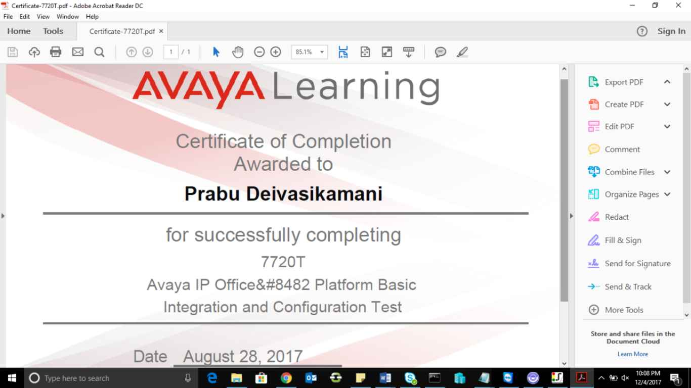 Avaya training in bangalore dating 6
