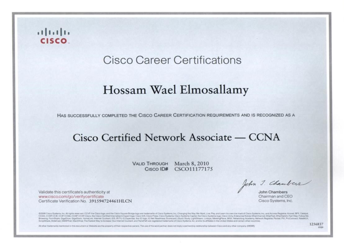 sample resume for network administrator maximo administrator sample resumeml hossam wael almosallamy baytcom - Novell Certified Network Engineer Sample Resume
