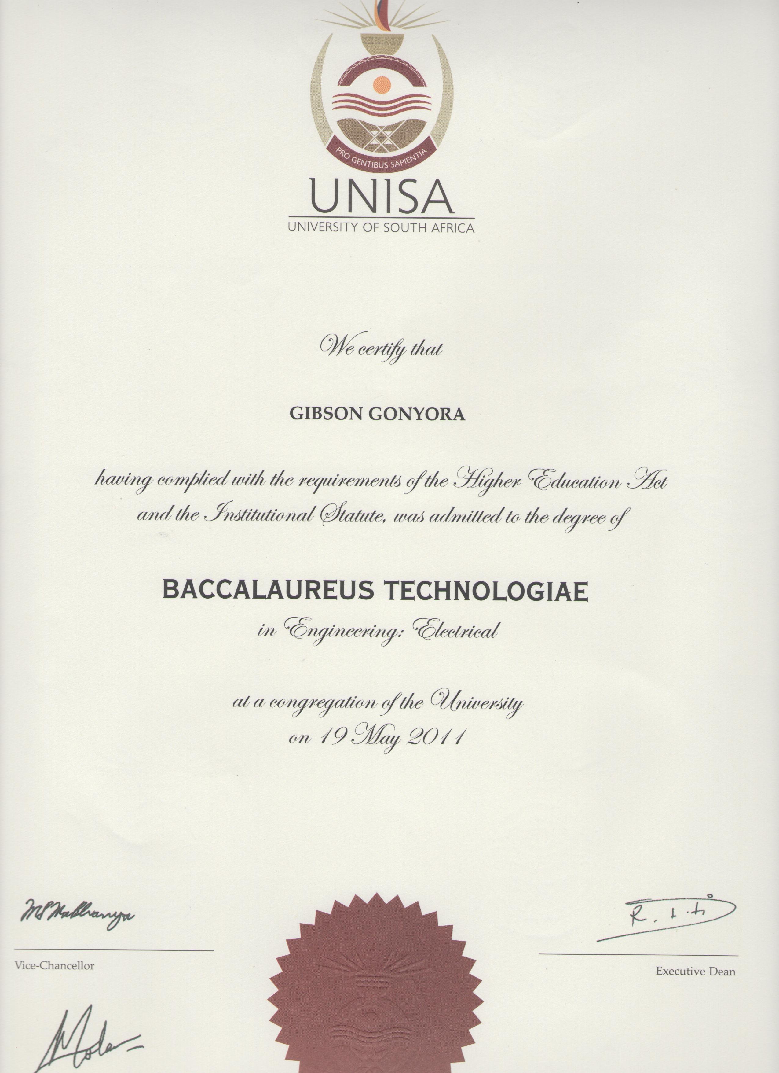 It Management It Project Management Course Unisa