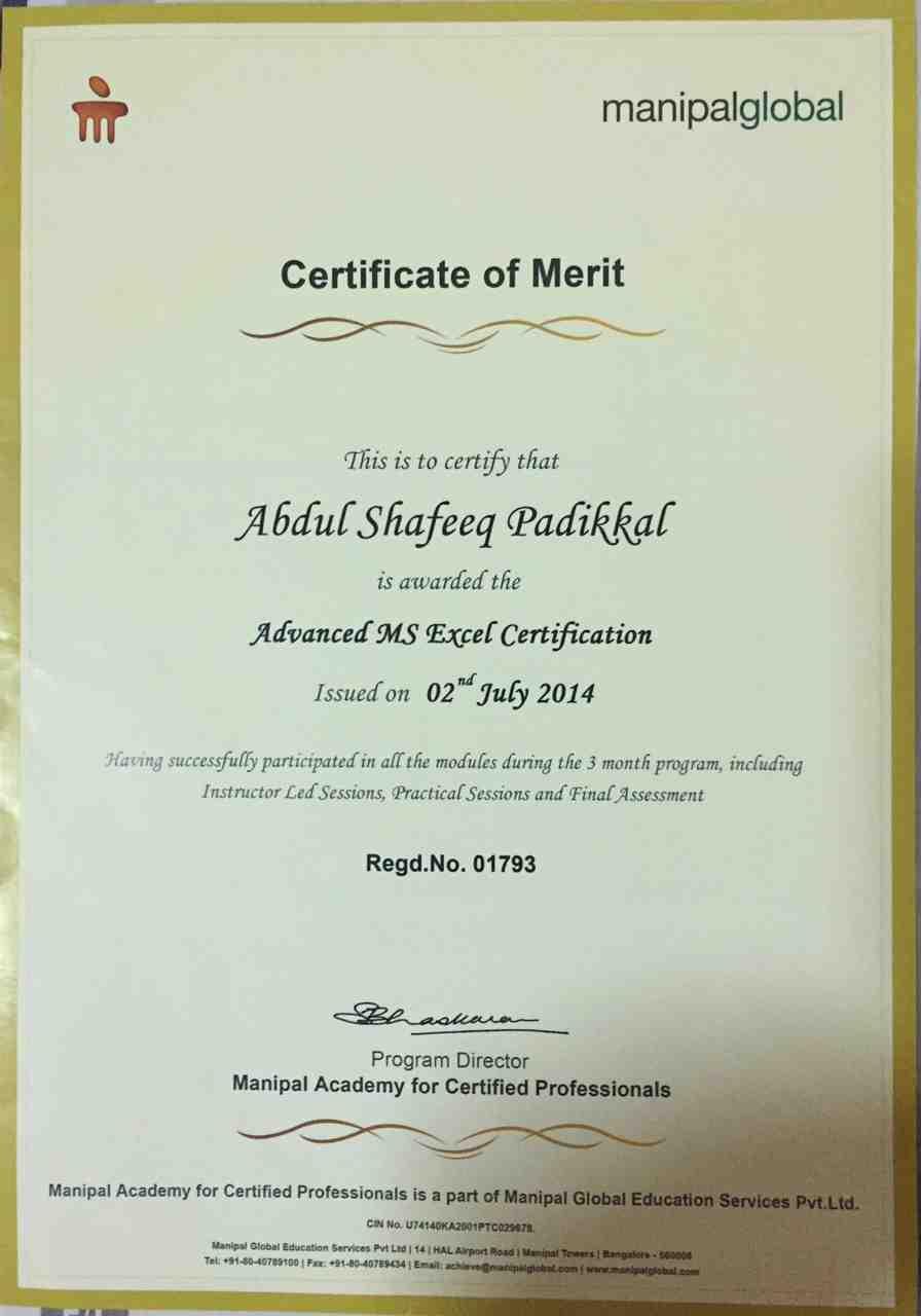 Abdul shafeeq padikkal bayt training institute manipal advanced studies 1betcityfo Images