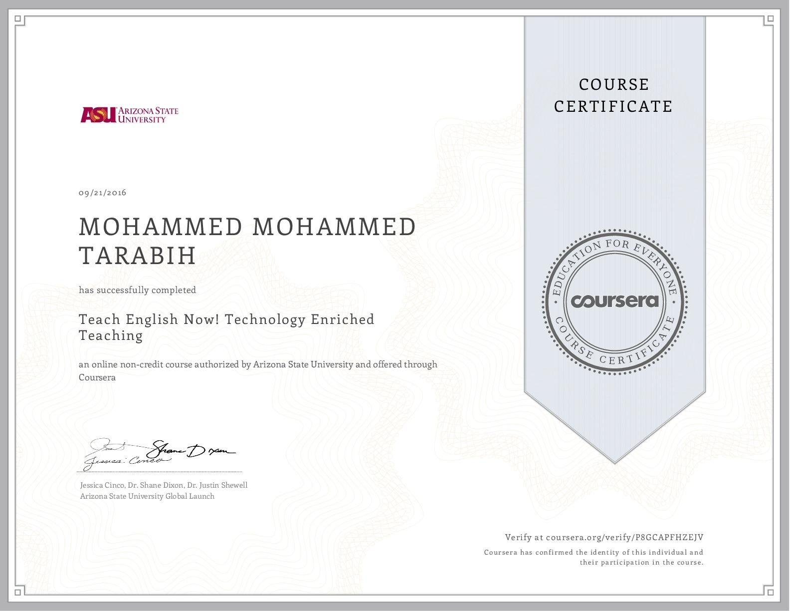 Mohammed mohammed tarabih bayt training institute arizona state university xflitez Image collections