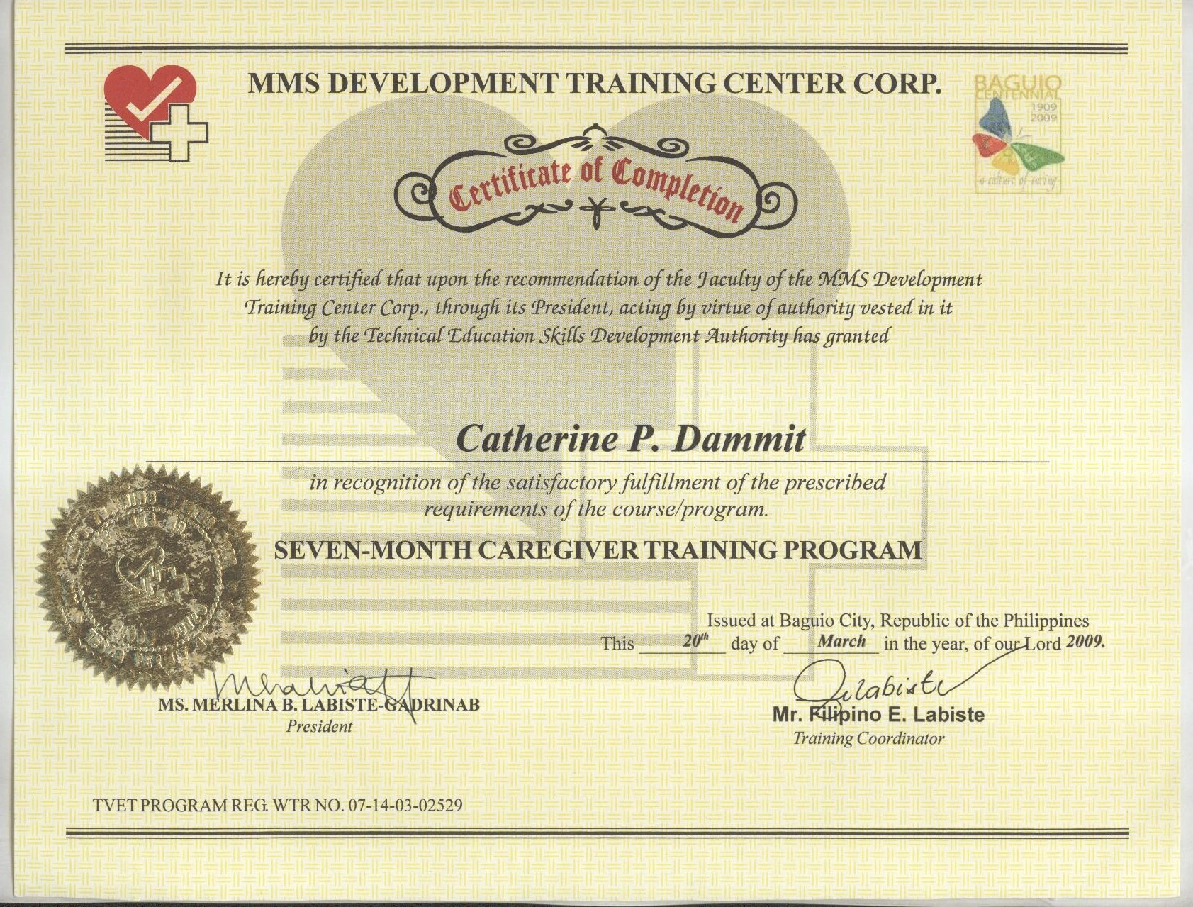 Catherine dammit bayt at mms development training office administration 1betcityfo Choice Image