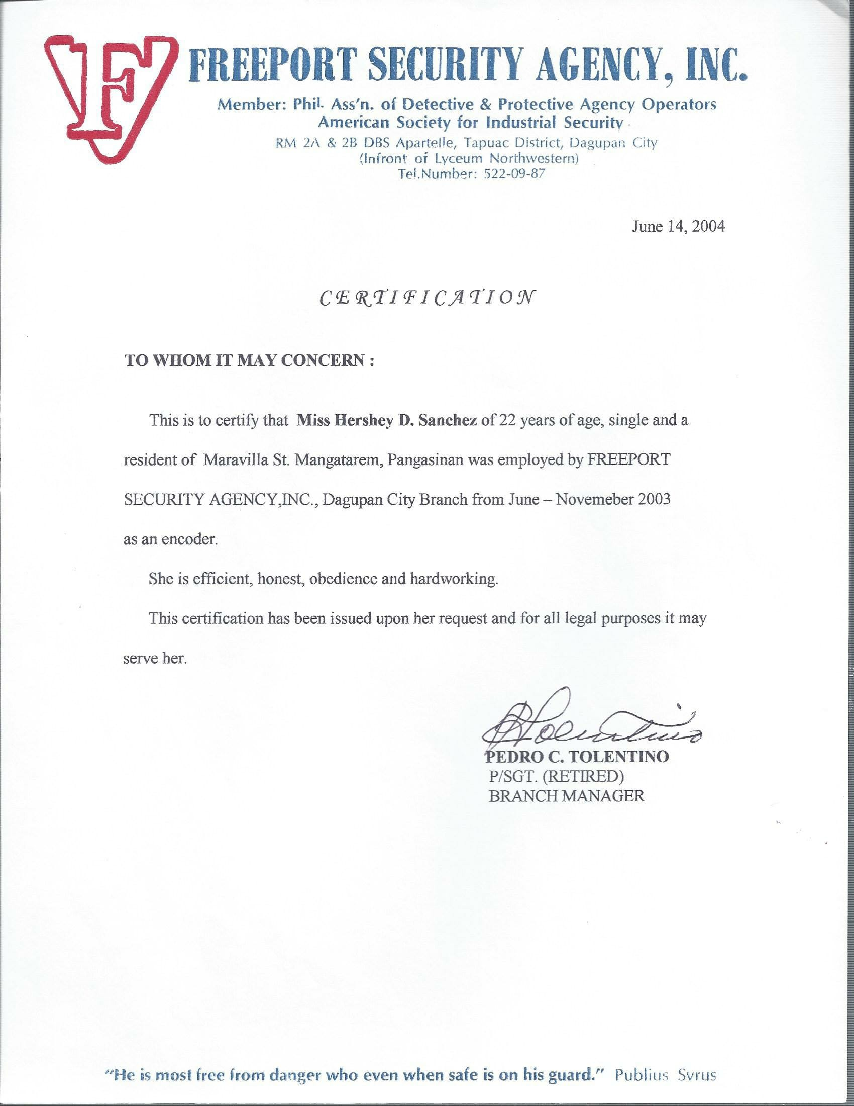 Request for certificate of employment employment letter of hershey sanchez baytcom 7501162 1481628670 85 hershey sanchez request for certificate of employment request for certificate of employment yadclub Choice Image