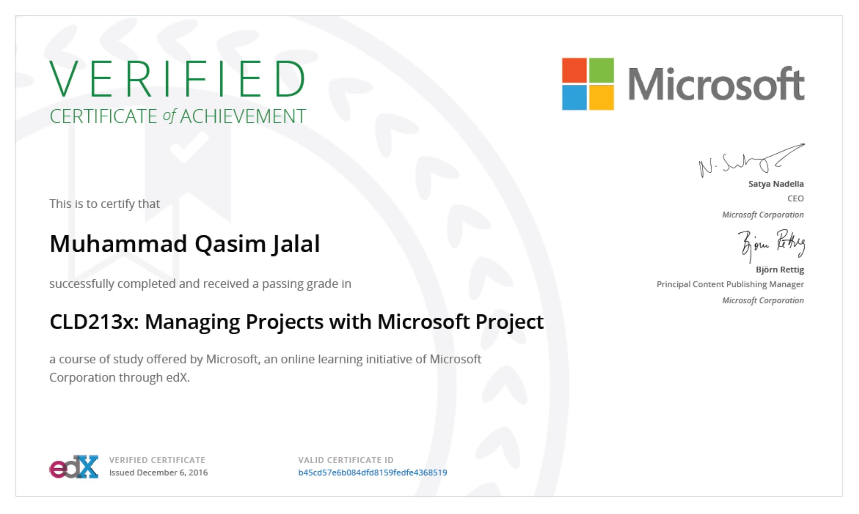 Muhammad qasim jalal bayt training institute edx microsoft corporation 1betcityfo Choice Image