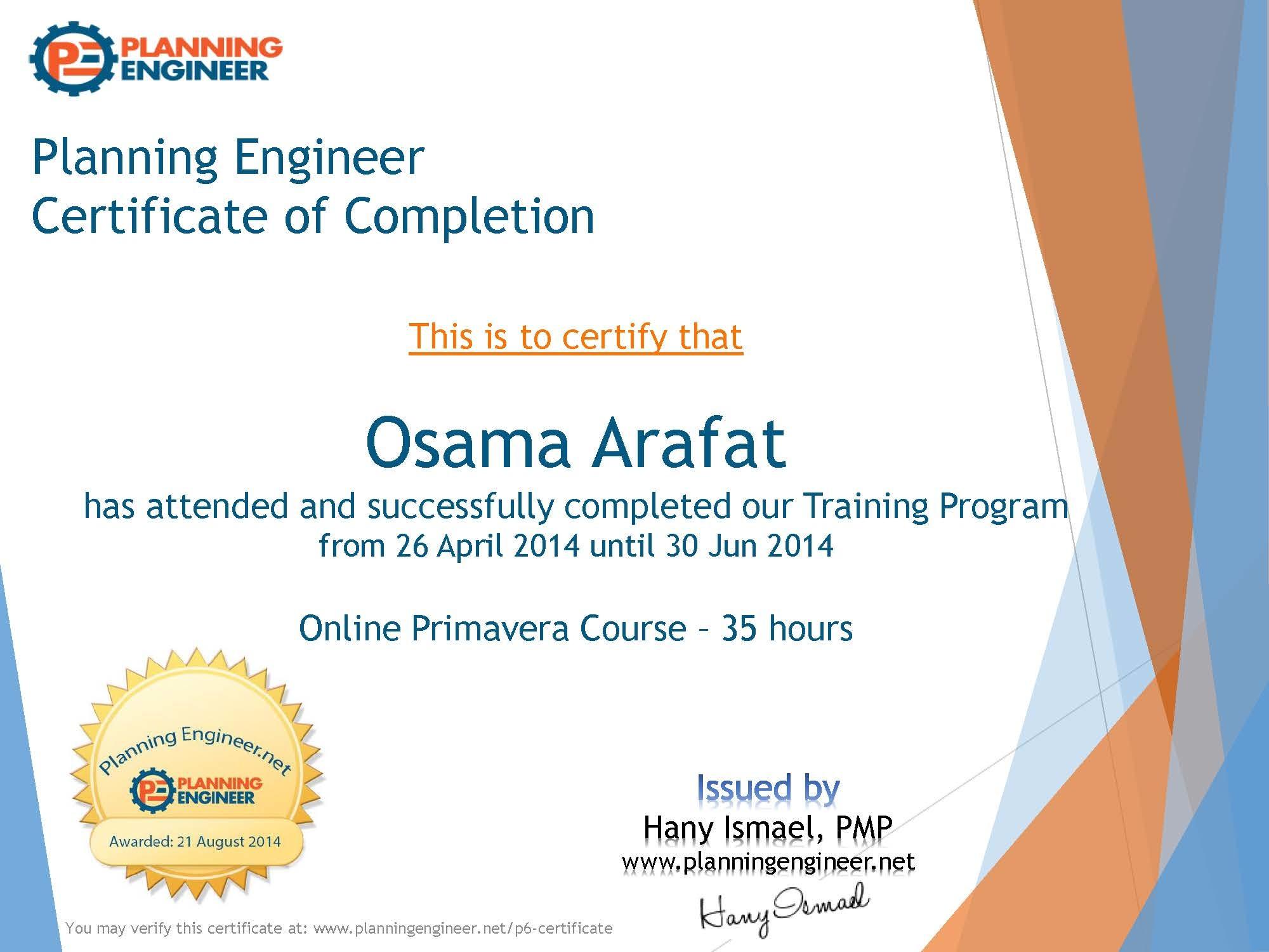 Osama arafat bayt training institute planning engineer xflitez Image collections
