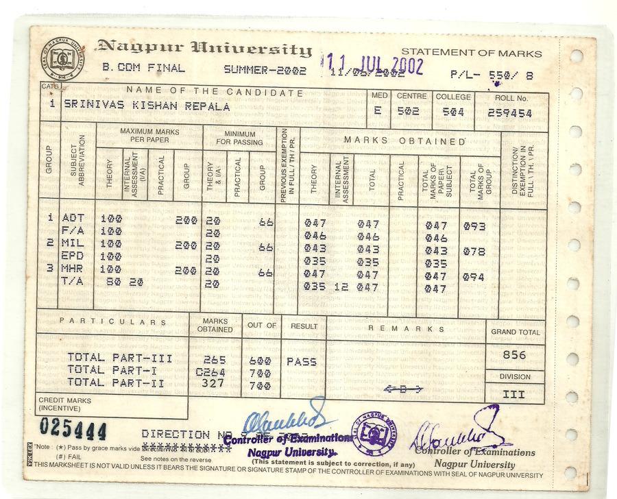 Srinivas repala bayt at nagpur university sardar patel mahavidhyalaya yadclub Choice Image