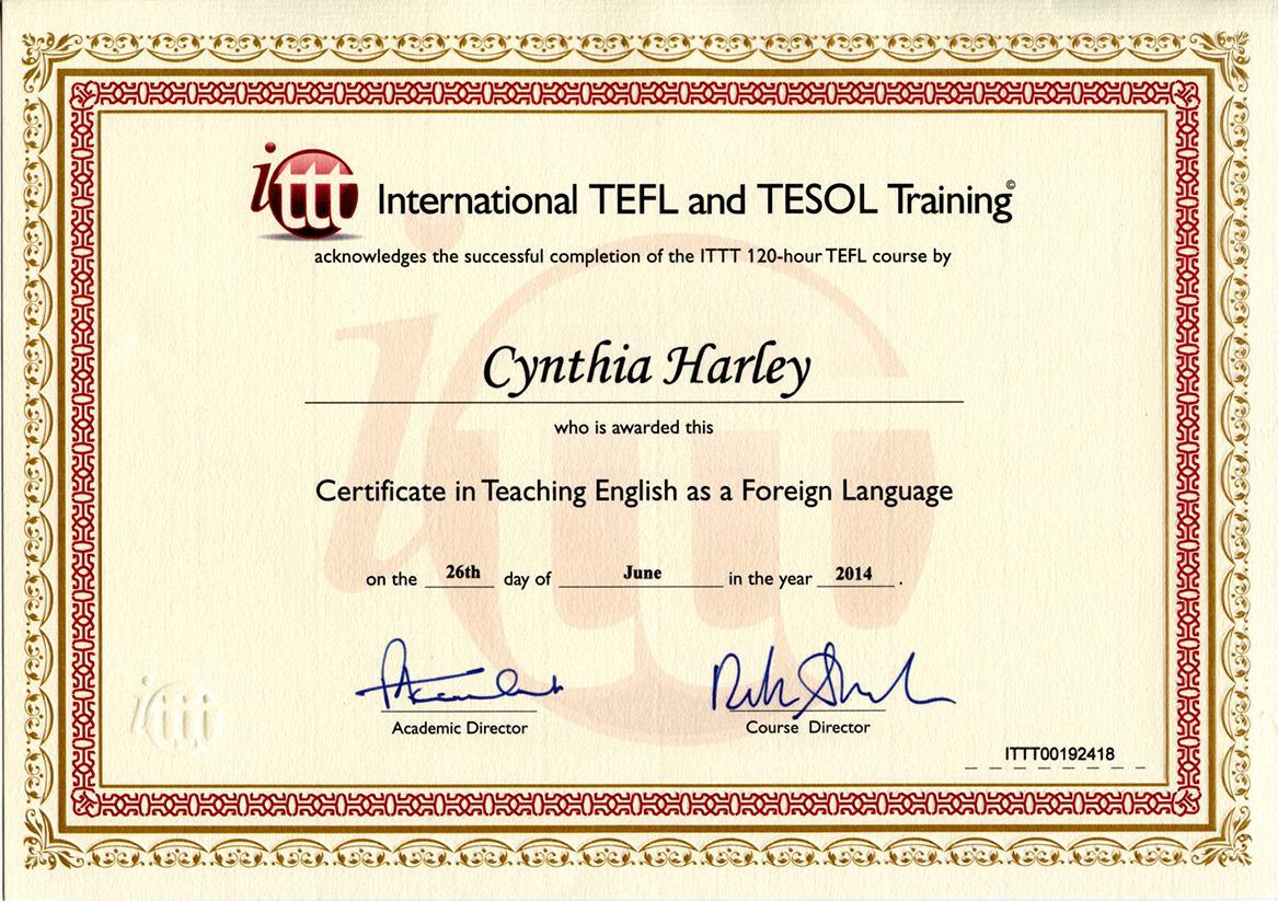 Cynthia harley khodir bayt at international tefoltesol training institute xflitez Image collections