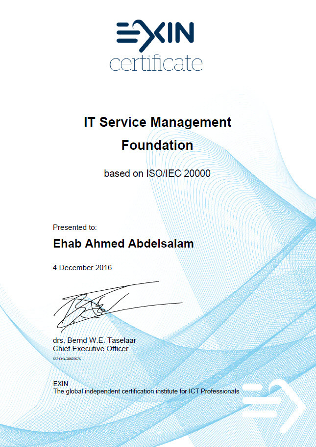 It Service Management Qa Itil Foundation Certificate In It Service