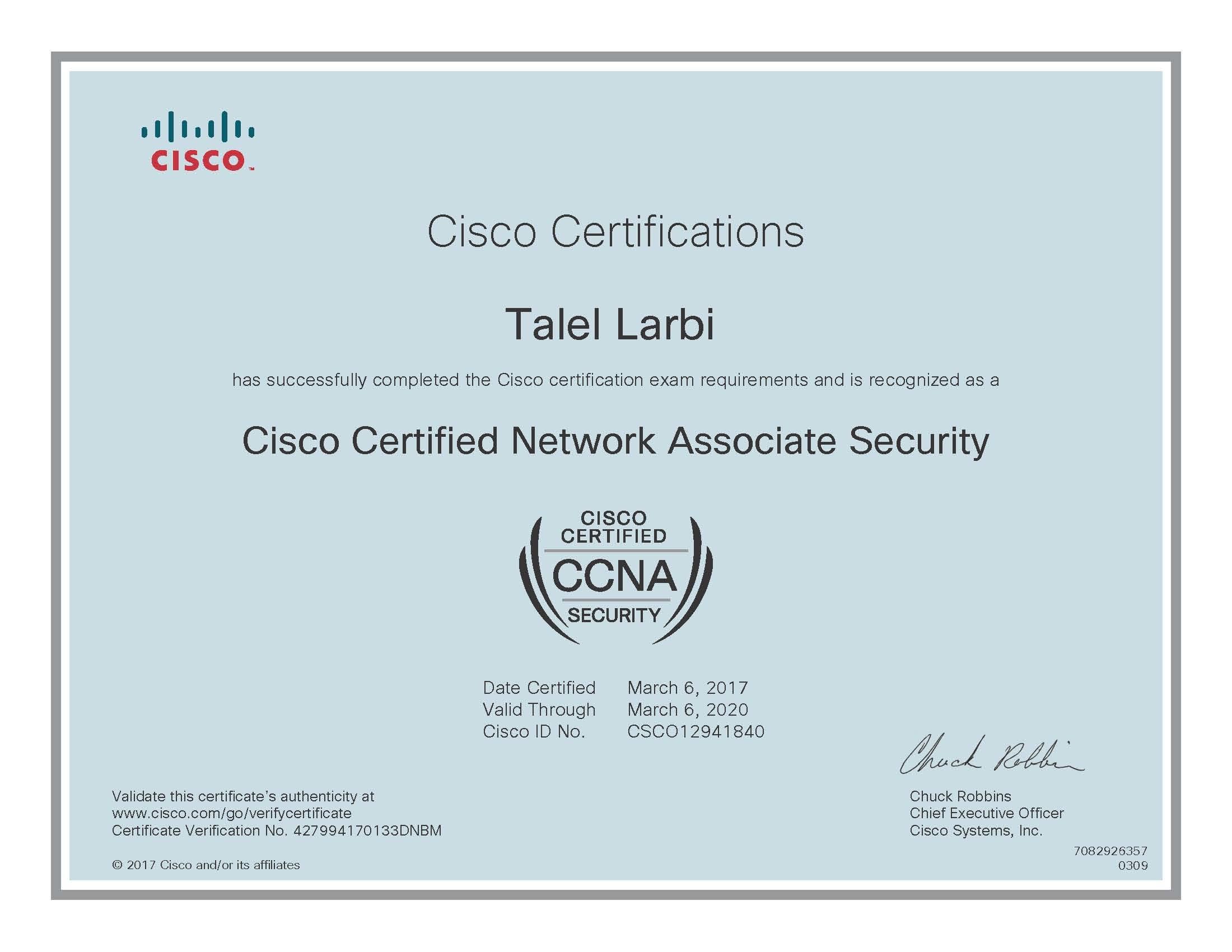 Ccnp Security 300 206
