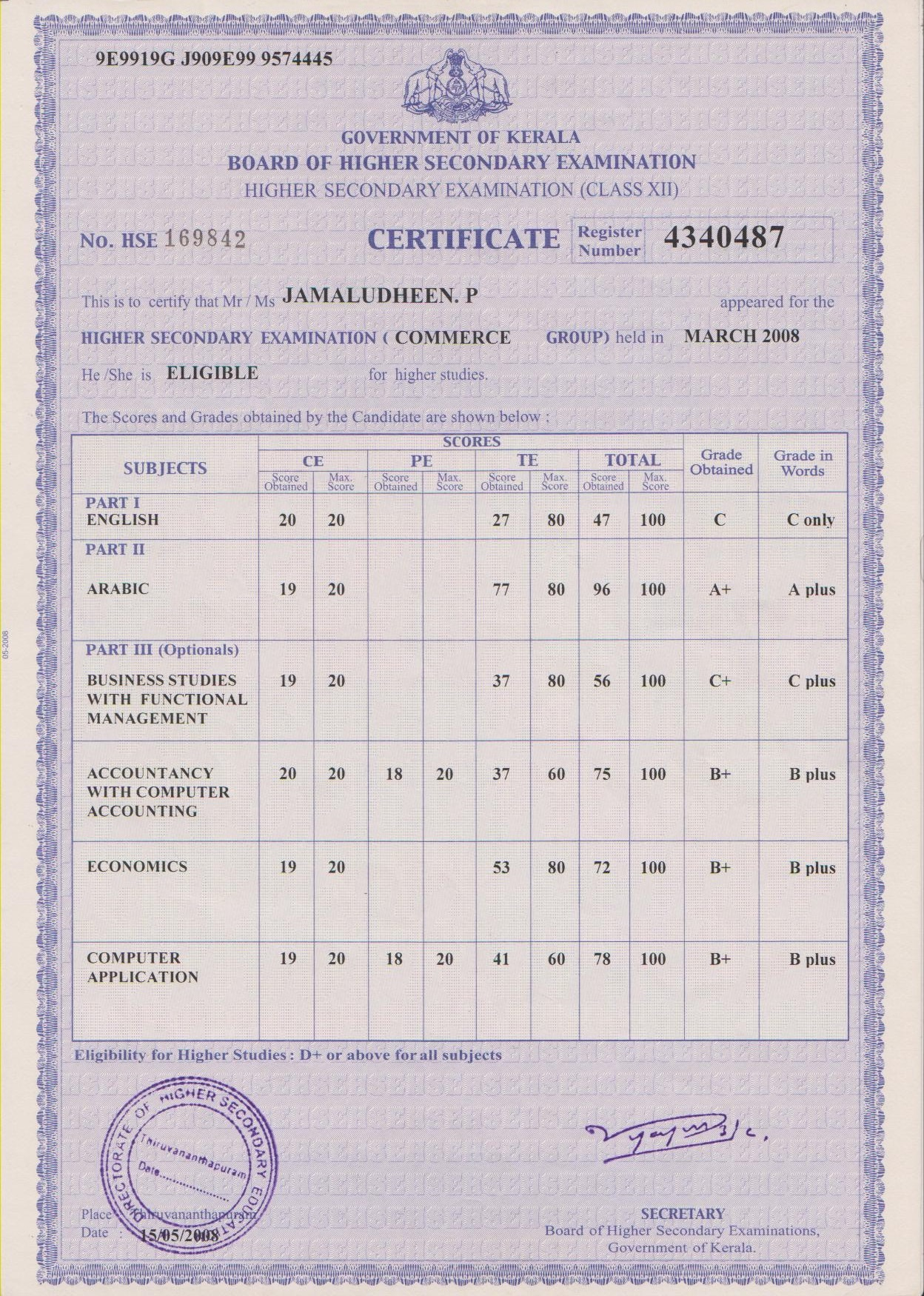 Sample pre degree certificate choice image certificate design and sample pre degree certificate choice image certificate design and sample pre degree certificate gallery certificate design yelopaper Choice Image
