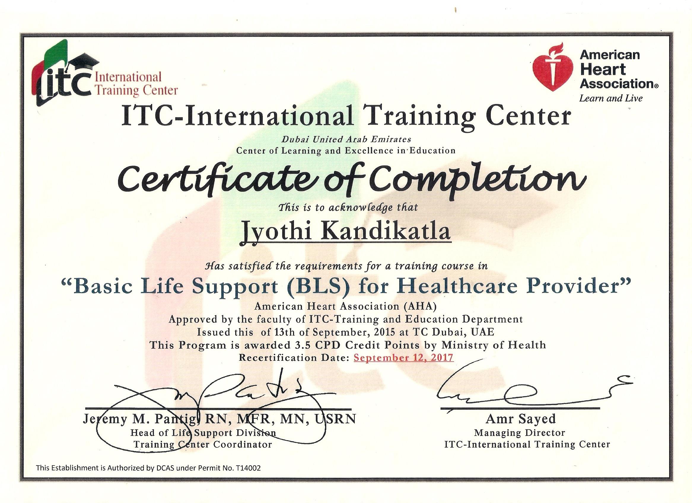 Inspirational stock of aha certification business cards and jyothi kandikatla bayt xflitez Choice Image