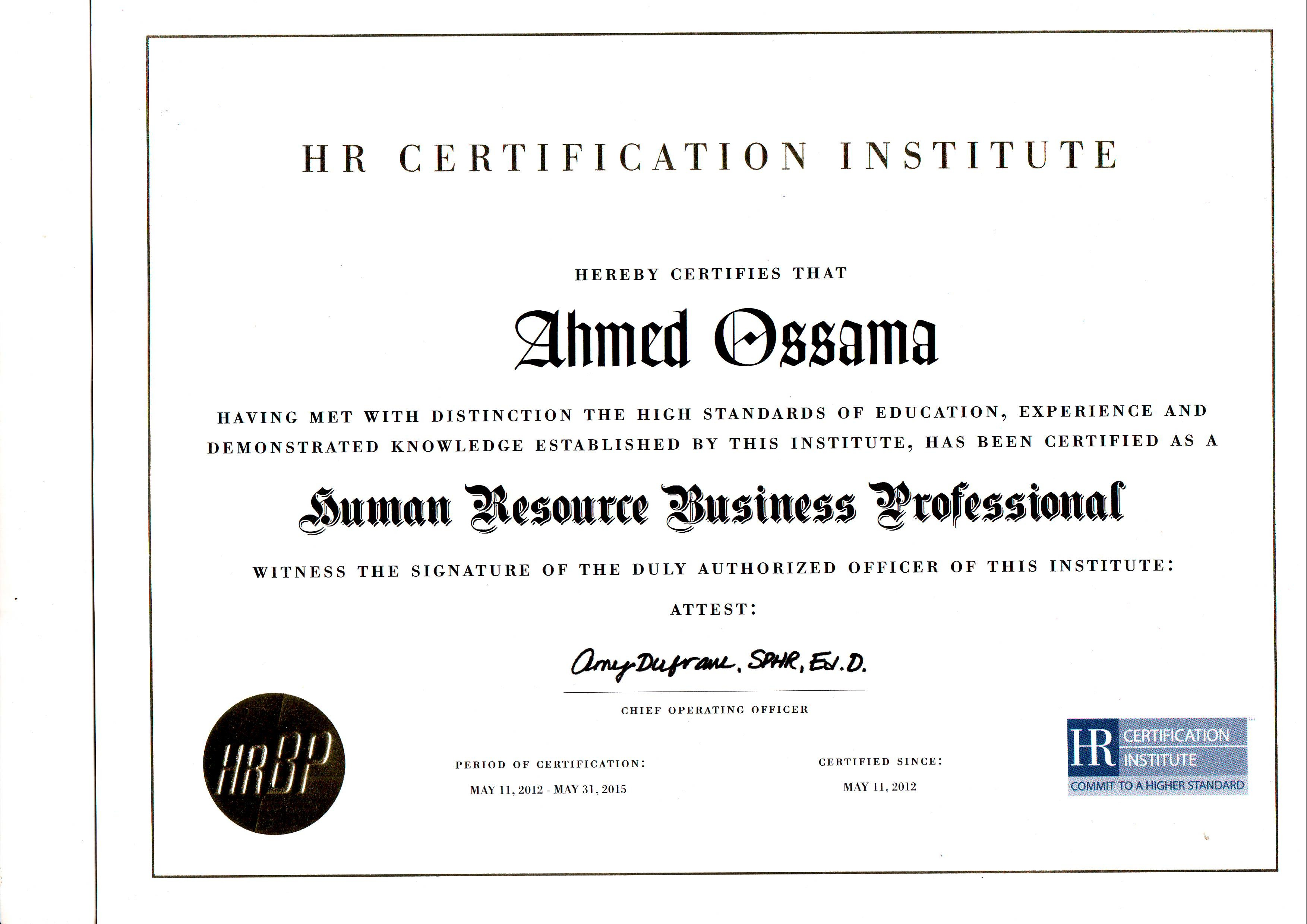 Ahmed ossama cipd shrm cp phri bayt module 1 hr administration module 2 recruitment and selection module 3 employee relations and communication module 4 compensation and benefits 1betcityfo Image collections