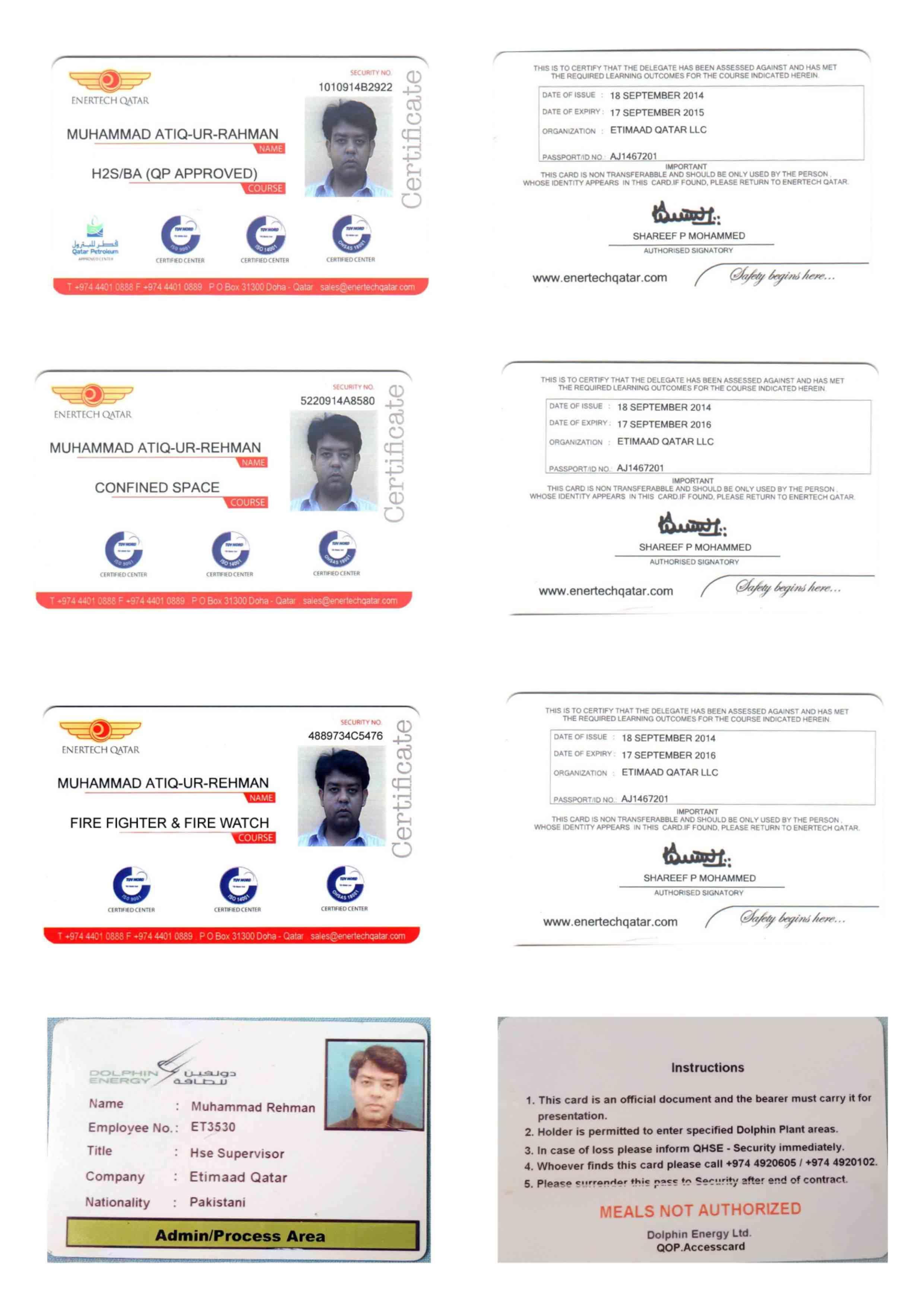 Muhammad atiq ur rehman bayt training institute ener tech doha qatar 3rd party certificate 1betcityfo Images