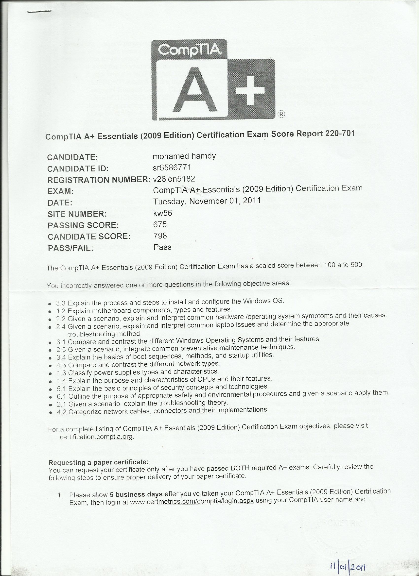 Muhammad hamdi bayt a certificate xflitez Choice Image