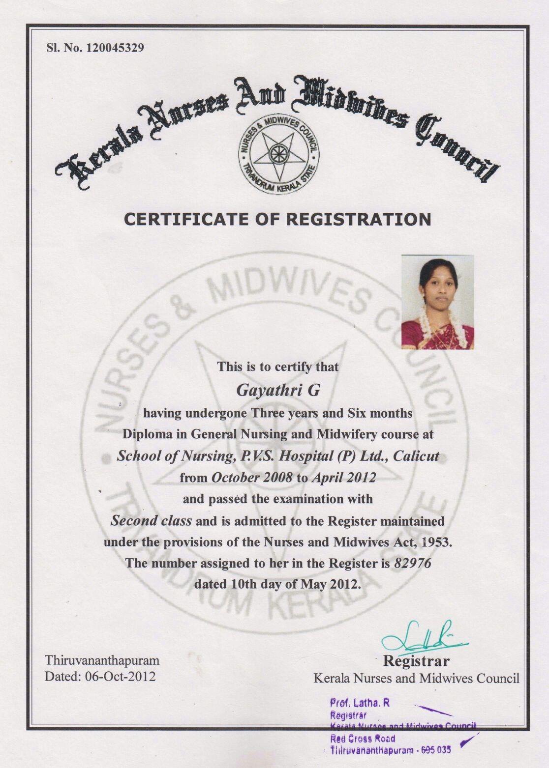 Nursing Diploma Certificate Best Design Sertificate 2018