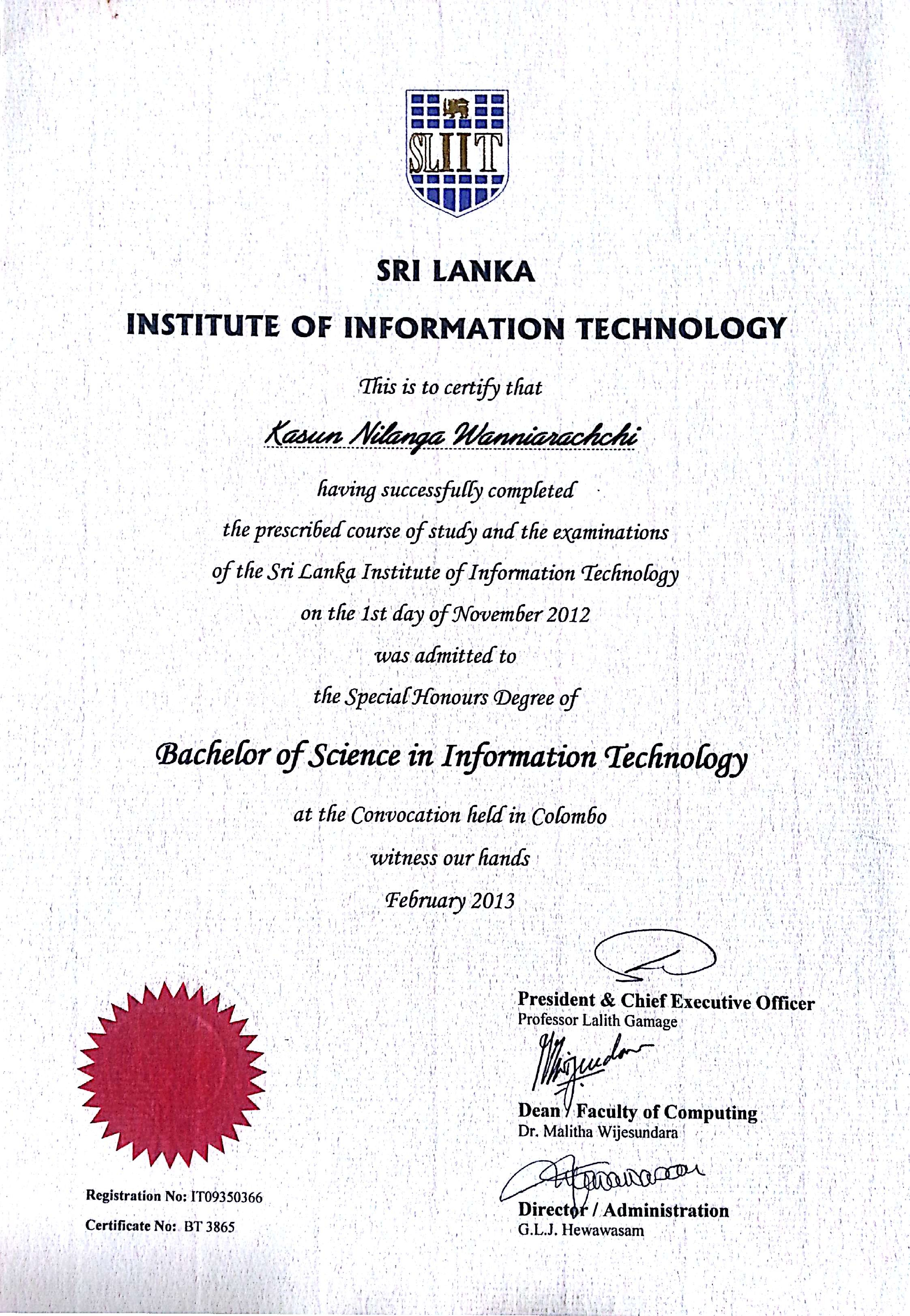 New Collection Of Information Technology Certificate Business