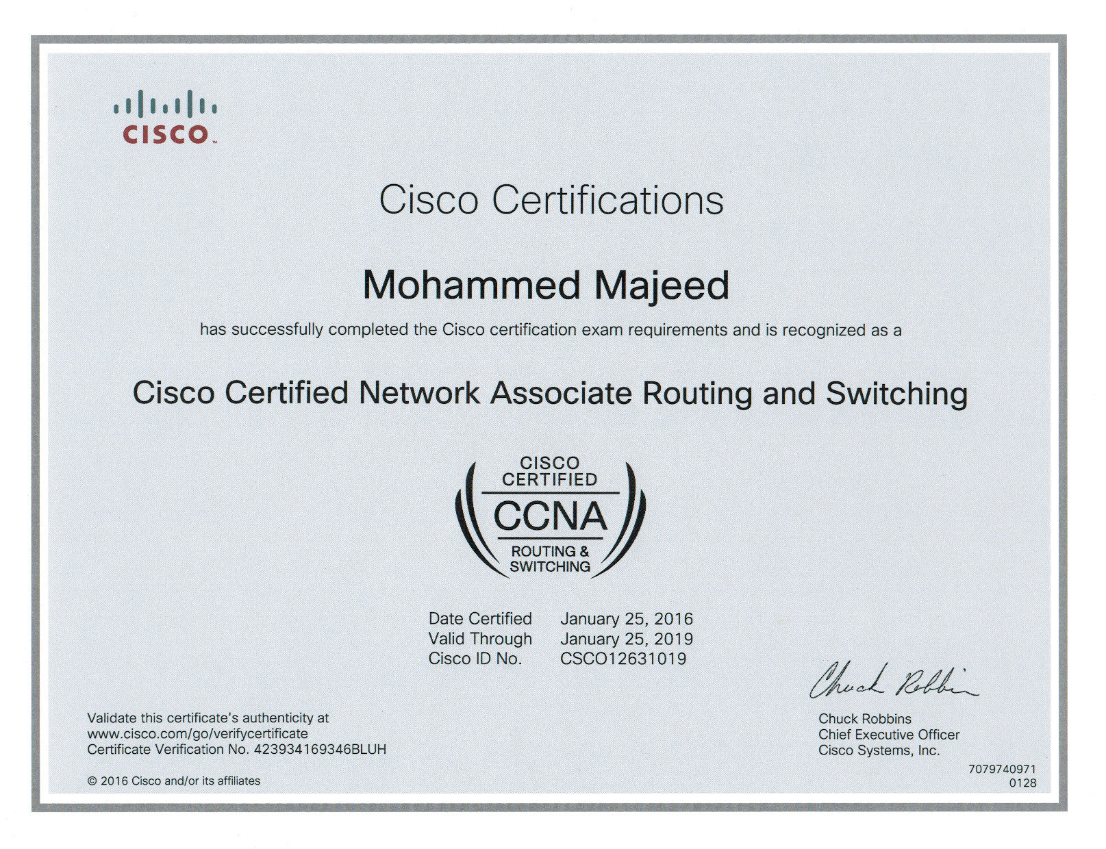 Mohammed majeed bayt ccna certificate 1betcityfo Gallery