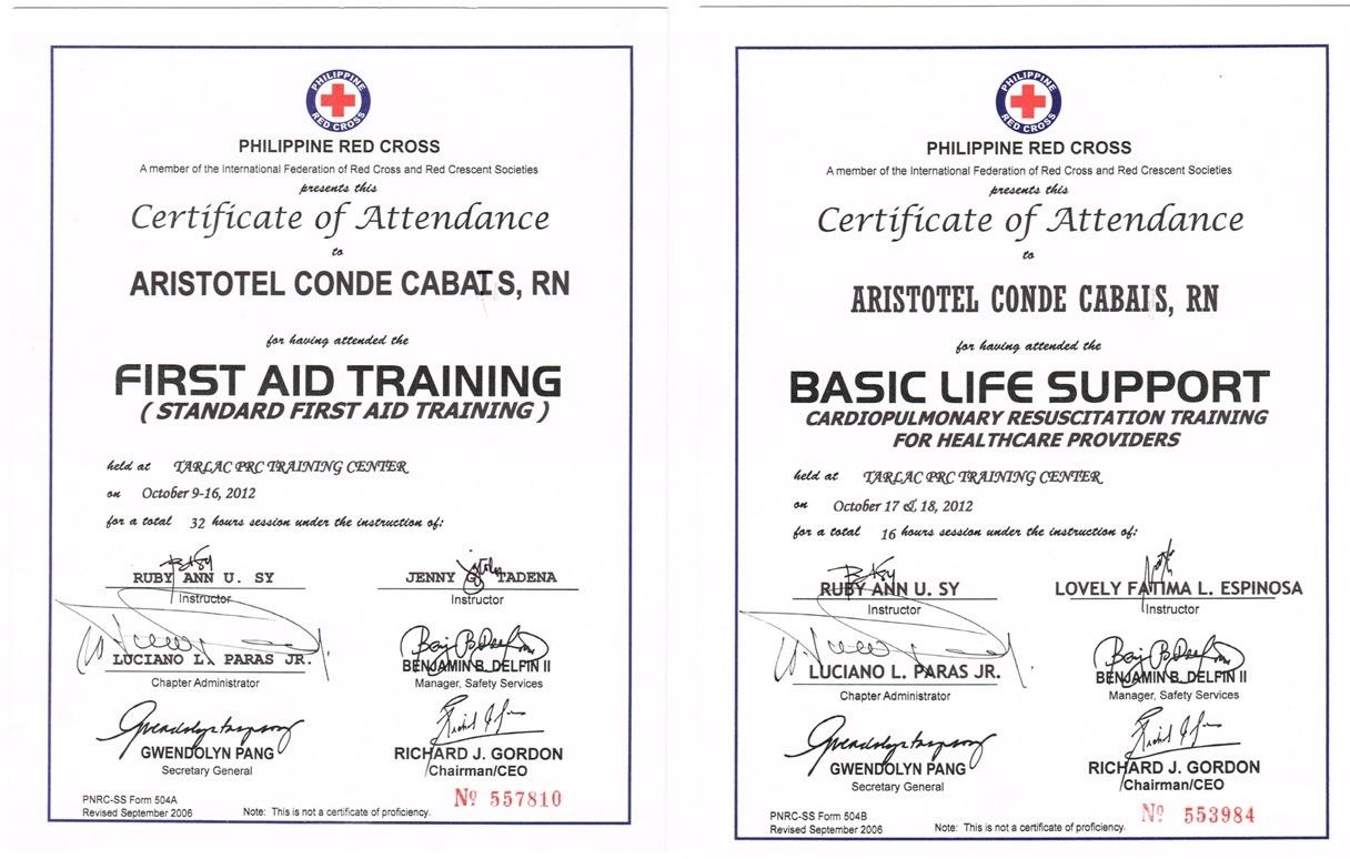 Aristotel cabais bayt institut de formation philippine red cross yelopaper Choice Image