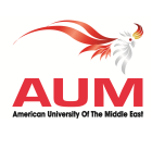 American University Of the Middle East.  logo