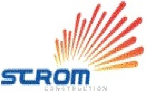 STROM CONSTRUCTION  logo